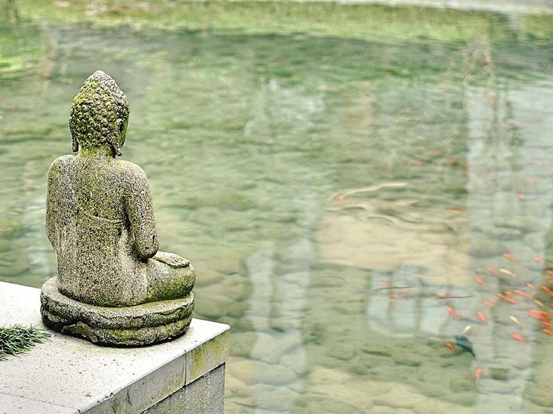 Chinese Statue - Meditation