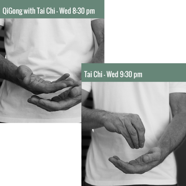 2-Class Package: Tai Chi (Wednesday)